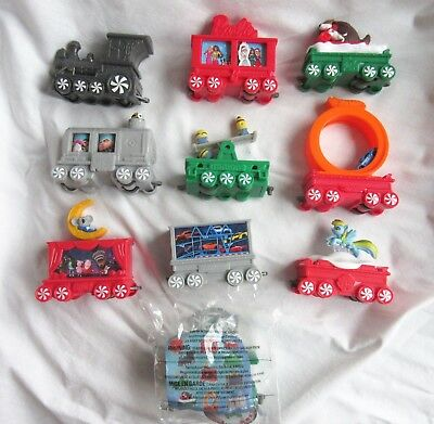 McDonalds 2017 Happy Meal Holiday Express Train - Complete Canadian Set of 10