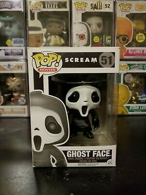 Funko Pop! Movies Scream Ghost Face #51 Vaulted Vinyl Figure WITH PROTECTOR!