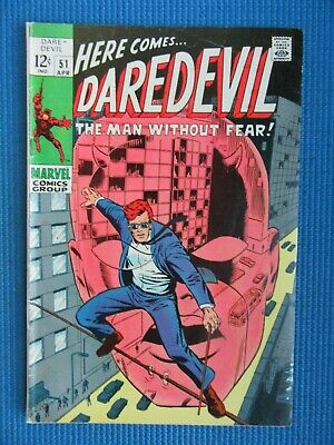 Daredevil # 51 - (Fine) -  Barry Smith - Run, Murdock Run