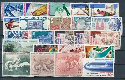 [G99924] Benin good lot Very Fine MNH Airmail stamps