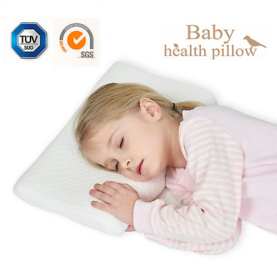 2-5 Years Memory Foam Pillow Bed Sleep Contour Pillow for Neck Support and Pain