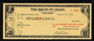 9Y596 - 1933 The House Of Crane - Indianapolis, Indiana