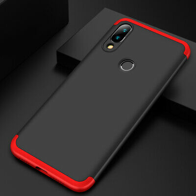 For Xiaomi Redmi Note 7, Shockproof Hybrid Armor PC Hard Shell Matte Case Cover