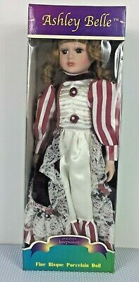 Ashley Belle - Fine Bisque Porcelain Doll - New in Box!