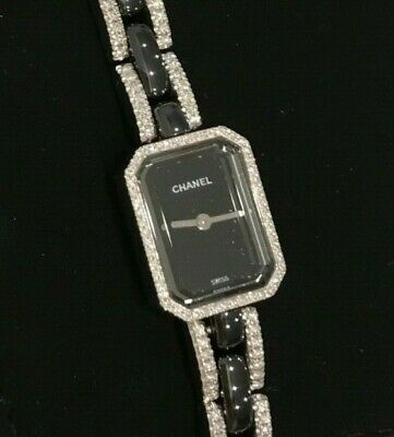 Authentic Chanel Premiere H2147 White Gold & Diamonds OPEN TO OFFER