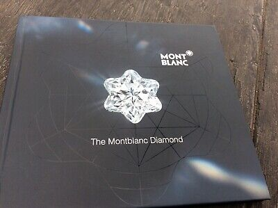Montblanc Catalog THE MONTBLANC DIAMOND Dealer Brochure Booklet SEALED