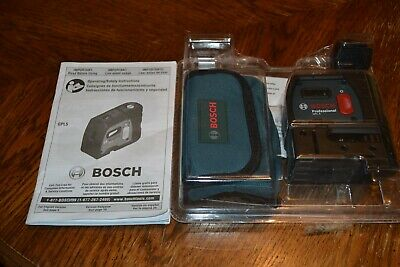 Bosch GPL 5 R Professional 5-Point Alignment Self Leveling Laser Level NEW