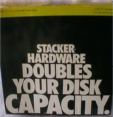 STAC Stacker AT/16 Hardware Co-processor Board and Software NEW