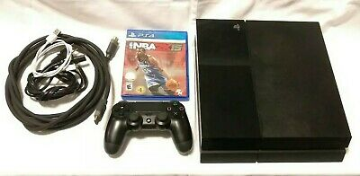 Sony PlayStation 4 - PS4 - 500GB Matte Black Console CUH-1115A with controller&g