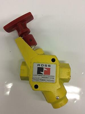 """Ross Controls Y1523C4002 Air Dump Valve Lockout and Exhaust W/Muffler 1/2""""NPT"""