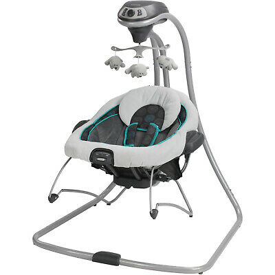 8154892f9c76 GRACO DUETCONNECT BABY Swing Bouncer Bristol Seat Portable Infant ...
