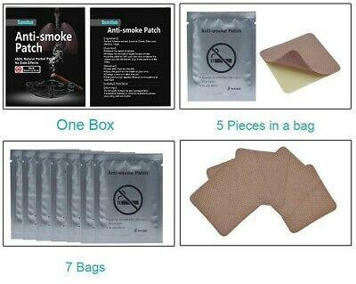 35 Pcs Miracle Anti-Smoking Patch-Natural tobacco extract Stop Smoking right now