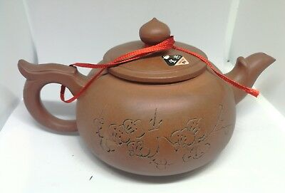 Vintage  Chinese  Yixing  Clay Teapot