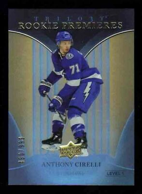 2018-19 UD Trilogy Rookie Premieres /999 ANTHONY CIRELLI RC Tampa Bay Lightning