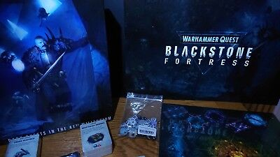 40K WARHAMMER QUEST: Blackstone Fortress Box Game - Rules, Cards etc
