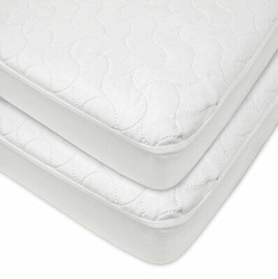 American Baby Company Waterproof Fitted Quilted Crib and Toddler Protective