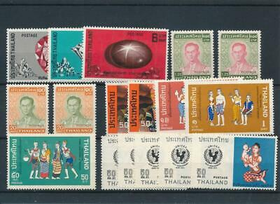 [120574] Thailand good lot of stamps very fine MNH