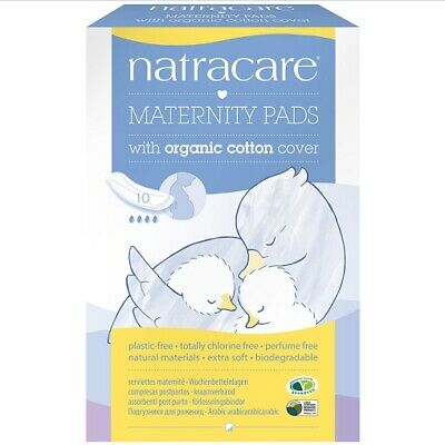 Natracare - New Mother Natural Maternity Pads - 10 Pads
