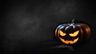 99p wallpaper Buy it now Digital Photo Halloween Background Photo Scary Pumpkin