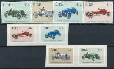 [121516] Ireland 2003 Cars good sets (2) of stamps very fine MNH / Adhesive