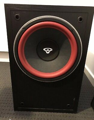 Cerwin Vega Lw-10x  Powered Subwoofer 10 Inch Aus Model Made In USA