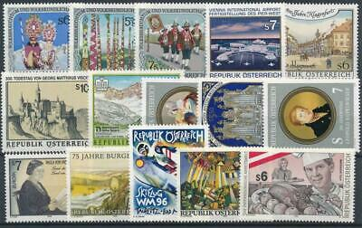 [121863] Austria good lot of stamps very fine MNH