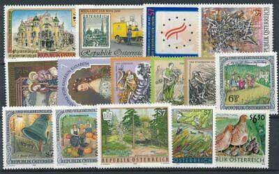 [121868] Austria good lot of stamps very fine MNH