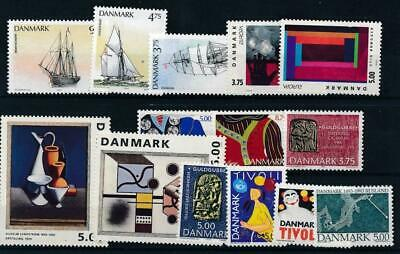 [121943] Denmark good lot of stamps very fine MNH
