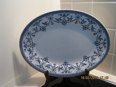 Antique English (?) China Serving Plate