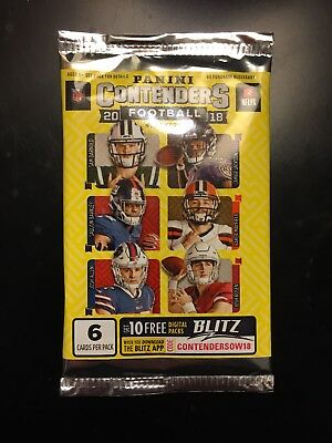 HOBBY 2018 Panini Contenders Football AUTO AUTOGRAPH Hot Pack