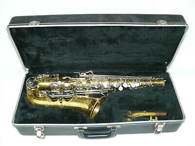 Vintage Selmer Co USA Bundy II  Saxophone With Hard Case