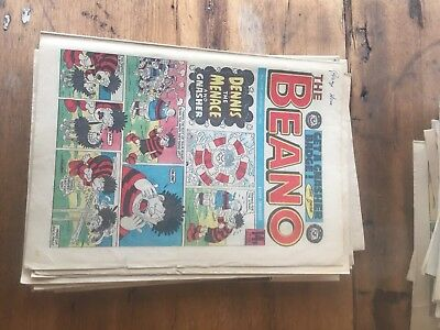 252 Beano Comics job lot 1978-1991
