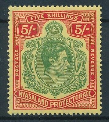 [5761] Nyasaland 1937 good stamp very fine MH value $50