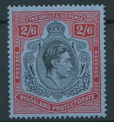 [5762] Nyasaland 1937 good stamp very fine MH