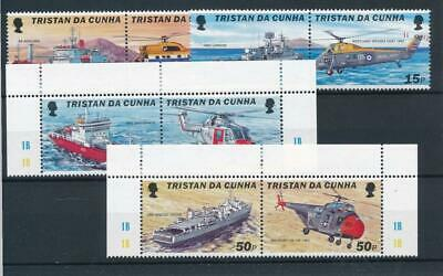 [6430] Tristan Cunha 2000 ships  good set very fine MNH stamps