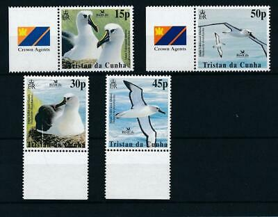 [6437] Tristan Cunha 2003 birds good set very fine MNH stamps