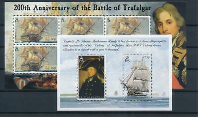 [G12735] Tristan Cunha 2005 ships  good sheets very fine MNH (2x)
