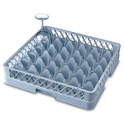 Genware NEV-GR36-3 Glass Rack, 36 Comp With 3 Extenders