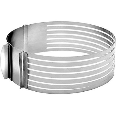 IBILI Layer Cake Slicing Kit, Stainless Steel, Silver, 30 x 30 x 5 cm