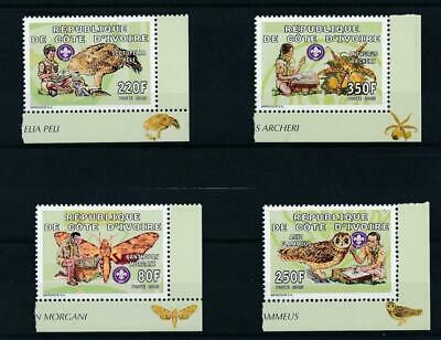 [111743] Ivory Coast 2005 Scoutism good Lot very fine MNH Stamps