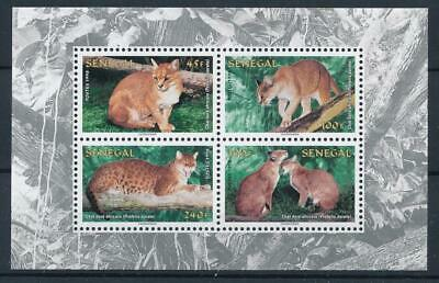 [111784] Senegal 1998 Fauna WWF good Sheet very fine MNH