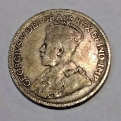 1936 Canada 25 Cents 80% silver Coin, NICE COIN, SILVER! GET IT WHILE YOU CAN!!!