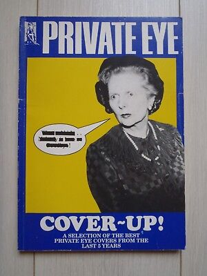 Private Eye Cover-Up! selection of covers 1985-1989 paperback book