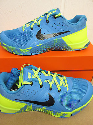 new products 2604d 650ed Nike Femmes Metcon 2 Amp Basket Course 843972 400 Baskets