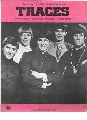 Traces, 1969, The Classics group on the cover, by Buie, Cobb and Gordy