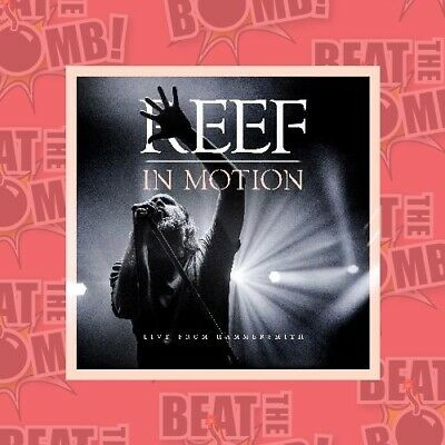 PREORDER - Reef: In Motion - Live from Hammersmith (CD  - BLU-RAY - NEW Region B