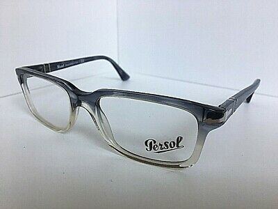 8f000e9ca8a46 New Persol 3130-V 1040 Gray 54mm Rx Men s Eyeglasses Frame Hand Made in  Italy