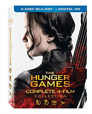 HUNGER GAMES: COMPLETE 4 FI...-HUNGER GAMES: COMPLETE 4 FILM COLLECT Blu-Ray NEW