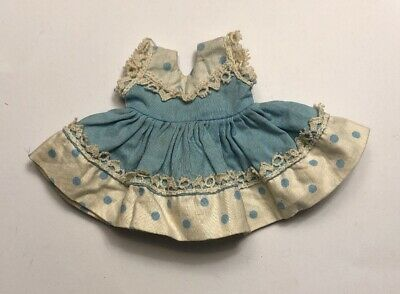 1950s Vintage Doll Clothes DRESS Vogue Ginny
