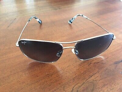 18f9547ca01 New With Tags Maui Jim Breezeway Aviator Sunglasses HS773-16 With Box And  Case